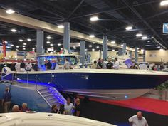Hydra-Sports launched their all-new 53 Suenos center console at the Miami Boat Show.