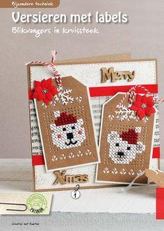 Easy Cross Stitch Patterns, Small Cross Stitch, Cute Cross Stitch, Cross Stitch Animals, Cross Stitch Boards, Cross Stitch Bookmarks, Cross Stitch Christmas Ornaments, Christmas Cross, Cross Stitching