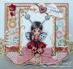 """My Creativity Life...: """"Little Lady Bug"""" from Saturated Canary"""