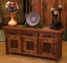 Rustic Sideboard Design, Pictures, Remodel, Decor and Ideas