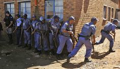 About 15,000 members of the South African Police Service (SAPS) ought to spend 15 years behind bars for not having gun competency certificates.