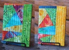 Quilted journal cover tutorial, more traditional version