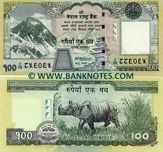 Nepalese Currency Nepal, Places Around The World, Around The Worlds, Banks Logo, Money Notes, Money Pictures, World Coins, The 100, Bank Deposit