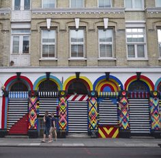 Brick Lane, near Petticoat Lane Market, London