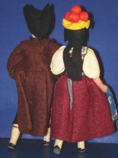 vintage german baps dolls, via Flickr
