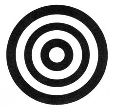 """Adinkra symbol for """"success"""" looks like an archery target. Yeah, I'm with it."""