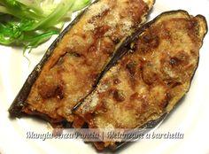 Mangia senza Pancia | Una squisita versione light delle classiche melanzane a barchetta cotte al forno e senza grassi aggiunti.