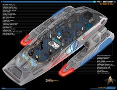 Star Trek Enterprise Ship, Star Trek Starships, Star Trek Voyager, Uss Enterprise, Star Trek Rpg, Star Trek Ships, Star Wars Spaceships, Sci Fi Spaceships, Spaceship Interior
