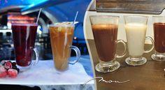 Sladučká horúca čokoláda alebo  Winter hot apple, Winter hot cranberries  – chutné zahriatie počas zimných dní v centre Bratislavy.