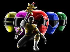 Power Rangers Zeo Fan Art