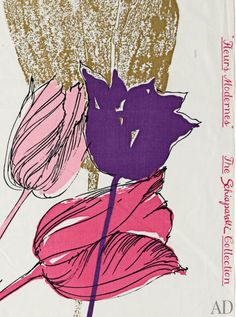 Rediscovering Elsa Schiaparelli's Fabric for the Home : News, Culture + Travel : Architectural Digest