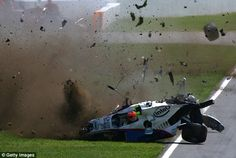 Robert Kubica had a horrendous crash at the 2007 Canadian GP. Luckily he walked away without serious injury.