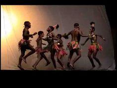 Africa, grup de dansa.