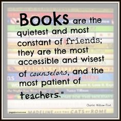 This sums up just about everything to do with books
