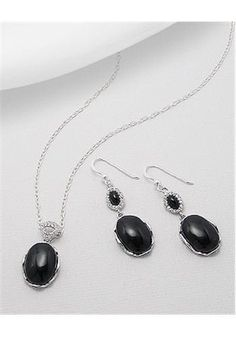 Jewelry Set Earrings In 92.5 Sterling Silver