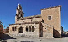 Iglesia románica de San Ginés - Rejas de San Esteban, provincia de Soria #sanginés #románico #soria #rejas #rejasdesanesteban