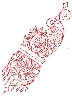 Mandala Tattoo Design, Henna Tattoo Designs, Tattoo Sleeve Designs, Sleeve Tattoos, Tattoo Sketches, Tattoo Drawings, Tattoo Mandala Feminina, Unique Tattoos, Hand Tattoos