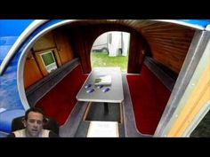 TeardropTV - Presents - Episode 2 - Teardrop Garage - Jim Bailey & His Blue Teardrop Trailer - YouTube