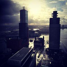 Wilhelminapier, Rotterdam Photo: @okkiepep
