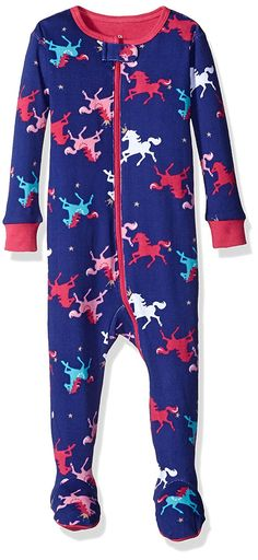 AmazonSmile  Petit Lem Baby Girls  Circus Printed Footed 2aaa18f8e