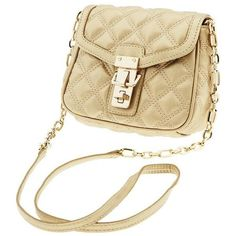 Banana Republic Quilted Faux Leather Cross Body ($60)