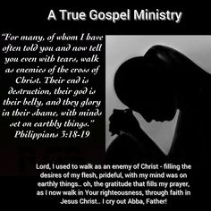 What is your mind on?  #atruegospelministry