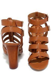 f8d69b5493fdc Great Adventure Tan Caged Heels