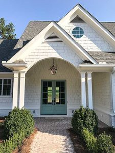 Plan 24374TW: Country Craftsman With Vaulted Interior And French Door Foyer