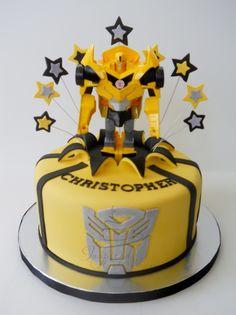 "Transformers ""Bumblebee"" Cake"