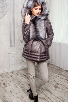 6dbc3bec9b60 Зимний жакет Микки. Andrey · Elements of clothing · 3/4 CHINCHILLA COAT - WOMEN  FURS ...