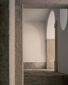 Rory Gardiner Interior Architecture, Interior Design, Corner Wall, Light And Space, Cafe Design, Wabi Sabi, Natural Light, Minimalism, Mirror