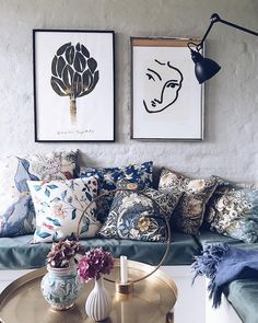 my scandinavian home: Warm and Inviting Danish home with Beautiful Textiles