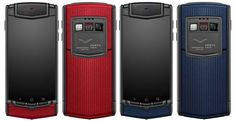 Vertu TI now available in red or blue limited editions, only of each made Mobile Models, Google Pixel Phone, Newest Cell Phones, Latest Gadgets, Black Edition, Technology Gadgets, Midnight Blue, Red And Blue, Locker Storage
