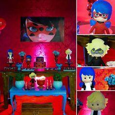 Festa Infantil Miraculous LadyBug - 15 decorações de arrasar