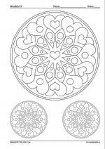 Color the pattern – Valentine's Day – Valentine's Day Valentine Crafts, Valentines Day, Cute Coloring Pages, Art Activities, Arts And Crafts, Pattern, Hearts, Tips, Mandalas
