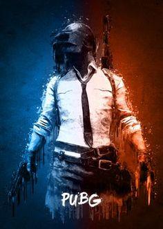 'PUBG' Metal Poster - Gab Fernando | Displate
