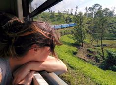 The train journey from Kandy to Ella is said to be one of the world's most scenic. Our experience of train travel in Sri Lanka taught me that sometimes the journey is the best bit. Rail Europe, Easy Jet, Train Journey, Train Travel, Nice View, Luxury Travel, Where To Go, Sri Lanka, Travel Guides