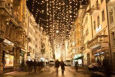 Christmas magic lights