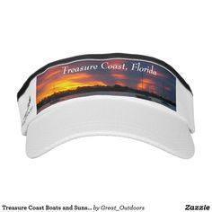 Treasure Coast Boats and Sunset visor