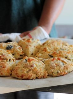 Olive and Sun-Dried Tomato Scones