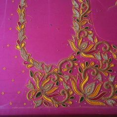 Best Blouse Designs, Simple Blouse Designs, Bridal Blouse Designs, Blouse Neck Designs, Peacock Embroidery Designs, Hand Designs, Flower Designs, Hand Work Blouse Design, Maggam Work Designs