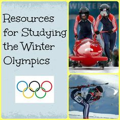Resources for Studying the Winter #Olympics (And link to some other resource pages)