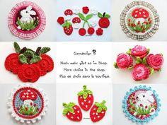 more crochet ornaments Crochet Diy, Love Crochet, Crochet Gifts, Crochet Motif, Beautiful Crochet, Crochet Flowers, Crochet Appliques, Crochet Ornaments, Crafts
