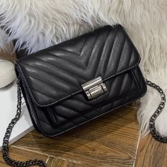 Chains Quilted Crossbody bag 20.25 USD