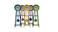 KARE 33998 Table Clock Grandfather Pendel Assorted - 3D Warehouse