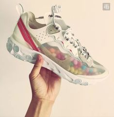 low priced dddf7 267c7 Nike React Element 87 'Light Bone' AQ1090 100 Off White Shoes, Sneakers For