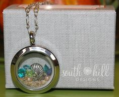 >>>Pandora Jewelry OFF! >>>Visit>> Sand from Bahama's with charms in South Hill Designs locket. Order anytime at www. Locket Design, South Hill Designs, Origami Owl Lockets, Floating Lockets, Living Lockets, Locket Charms, Beach Jewelry, Pandora Jewelry, Personalized Jewelry