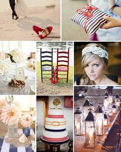 Nautical Wedding Inspiration - www.thesimplfiers.com