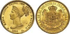 Varesi s. October 2014, Gold Coins, Auction, Gold, Crests