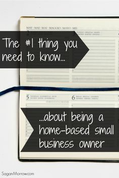 Find out the #1 thing you need to know about being a home-based small business owner in this article! Great freelancing tips for anyone working from home (including bloggers!)